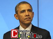 SUMMIT 2014 EU-US:  Jornalista Horácio Fernandes da Revista Contato sprl, na conferência de imprensa do presidente Barack Obama no Conselho Europeu em Bruxelas, Bélgica.
